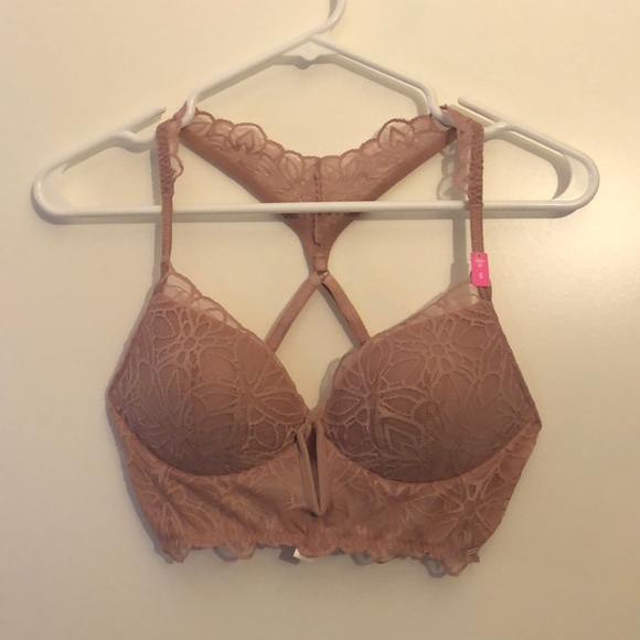 New Victoria/'s Secret Pink Date Push Up Bra Size Small Triangle Back Size S